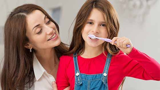 Dental hygiene for children