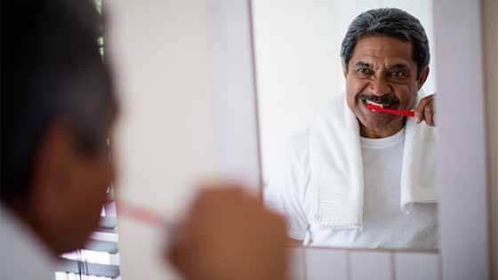Dental hygiene for seniors