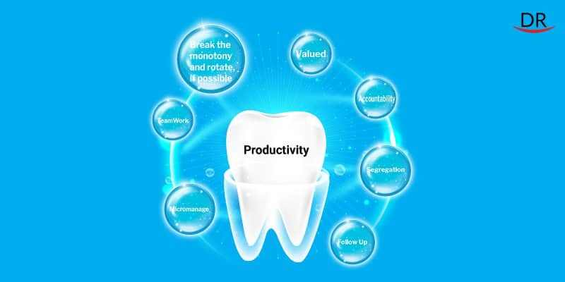 What are the different way to improve     productivity in your practice?