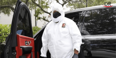 DJ Khaled Wears Hazmat Suit to Visit His Dentist
