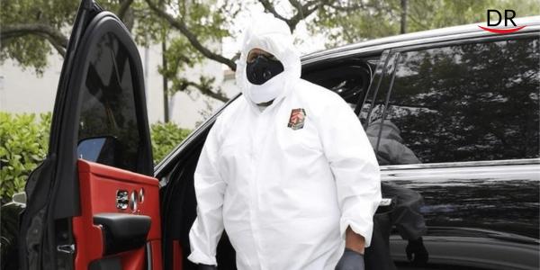 DJ Khaled Wears Hazmat Suit to Visit His Dentist