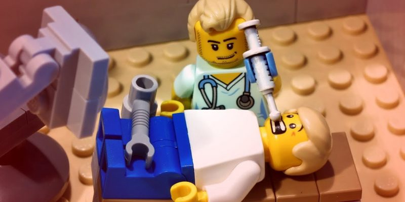 A Dentist's Encounter with Lego - An Invention Story!